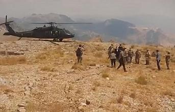 Şırnak kırsalında PKK'ya büyük operasyon başlatıldı