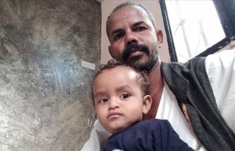 Türkiye sevdalısı Sudanlı baba ilk çocuğuna 'Erdoğan' adını verdi