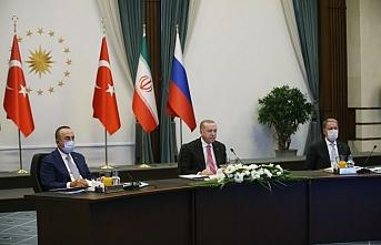 Türkiye-Rusya-İran Üçlü Zirvesi