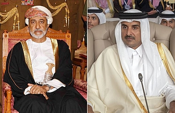 Umman Sultanı ile Katar Emiri ikili ilişkileri güçlendirmeyi görüştü