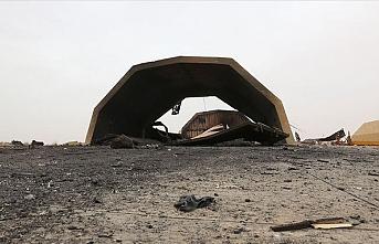 'Vatiyye üssünü bombalayan uçaklar yabancı güçlerin'