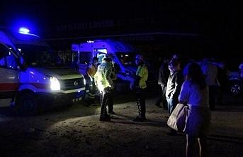 Afyon'da feci kaza.. 30 yaralı