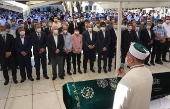 AK Parti Grup Başkanvekili Akbaşoğlu'nun babası son yolculuğuna uğurlandı