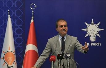 AK Parti Sözcüsü Çelik: Hiç kimse siyasi sistemimize müdahale edemez