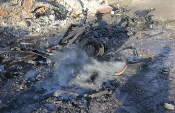 Bab'da SMO aracına bombalı saldırı: 1 ölü