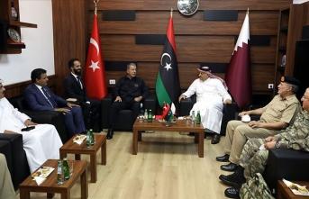 Bakan Akar: Libya Libyalılarındır diyerek BM tarafından tanınan meşru hükümetin yanındayız