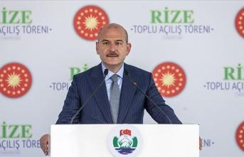 Bakan Süleyman Soylu: Hedefimiz, tüm acil durum numaralarının tek bir numarayla çevrilmesi