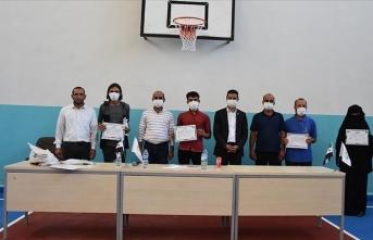 Barış Pınarı Bölgesi'nde terörden uzak ilk diploma töreni