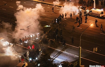 Belarus'taki seçim protestolarında bilanço artıyor! 1000'den fazla gözaltı