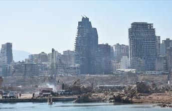 Buyrut'taki patlamanın maddi zararı
