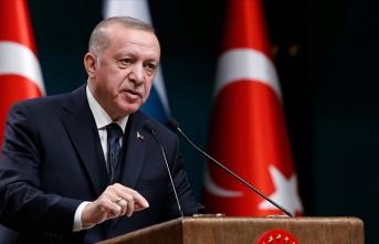 Cumhurbaşkanı Erdoğan: 30 Ağustos zaferiyle bu toprakların ebedi vatanımız olduğu bir kez daha ilan edilmiştir