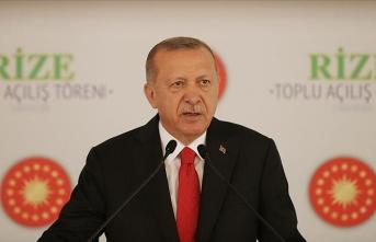 Cumhurbaşkanı Erdoğan: Tartışmaları milletin kutlu yürüyüşünün önünde takoz haline getirmeye kalkanlara göz yumamayız