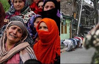 Dünya Keşmir'deki soykırıma karşı sessiz