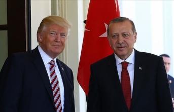 Erdoğan Trump ile telefonda görüştü