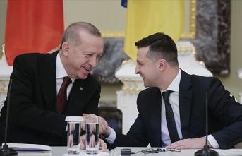 Erdoğan, Ukrayna Devlet Başkanı Vladimir Zelenskiy ile telefon görüşmesi gerçekleştirdi