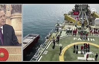 Erdoğan: 320 milyar metreküp doğalgaz keşfettik