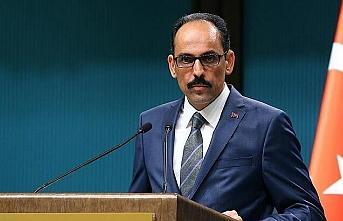 'Erdoğan'ı devireceğiz' diyen Biden'e İbrahim Kalın'dan çok net cevap