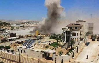 Esed bayram dinlemedi.. Hava saldırısında 3 sivil öldü