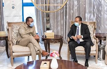 Etiyopya Başbakanı Abiy Ahmed, Sudan'da