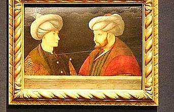 Fatih Sultan Mehmet'in portresi İBB'ye getirildi