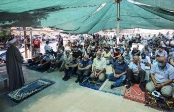 Filistinlilerden İsrail'in yıkımlarına tepki