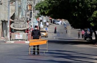 Gazze'de sokağa çıkma yasağı uzatıldı