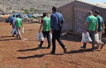 İHH'dan Gazze Şeridi'nde 4 bin 200 aileye kurban yardımı