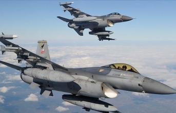 Irak kuzeyindeki Metina bölgesinde 8 PKK'lı terörist etkisiz hale getirildi