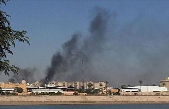 Irak'ın başkenti Bağdat'taki Yeşil Bölgeye füze saldırısı
