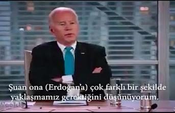 Joe Biden'ın Erdoğan hakkındaki sözleri neden bugün ortaya çıktı?
