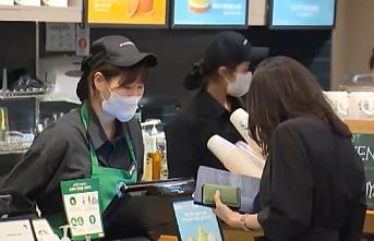 Kahve zincirinde toplu vakalar: Maske takan 4 çalışana bulaşmadı