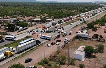 Meksika'da Yaqui yerlilerinin demir yolu kapatma eylemi devam ediyor