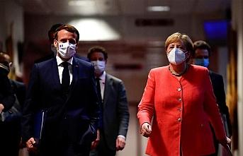 Merkel ve Macron'dan kritik Doğu Akdeniz görüşmesi