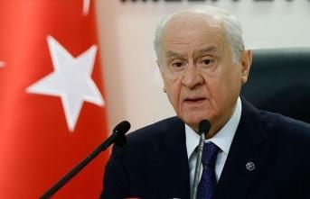 MHP Genel Başkanı Bahçeli: Tarihsel çıkarlarımıza sırt döneceğimizi düşünenler hesap hatası içinde