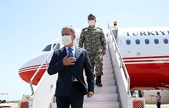 Milli Savunma Bakanı Akar ve Genelkurmay Başkanı Güler Trablus'ta