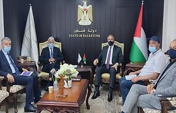 Mısır güvenlik heyeti Ramallah'da Fetih Hareketi yetkilileri ile görüştü