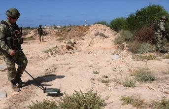 MSB: Hafter ve milisleri tarafından tuzaklanan mayın ve EYP'lerin imhası sürüyor