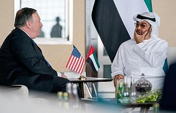 Pompeo ve Zayed ikili ilişkileri ve İsrail'le anlaşmayı görüştü