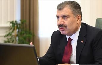 Sağlık Bakanı Koca 'Kovid-19'a karşı uyardı