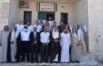 Suriye muhalefetinin aşiret temsilcileri Tel Abyad ilçesini ziyaret etti