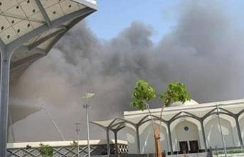 Suudi Arabistan'daki Harameyn Hızlı Tren İstasyonu'nda yangın