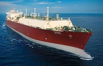 'Tembek' isimli LNG gemisi Türkiye'ye ulaştı