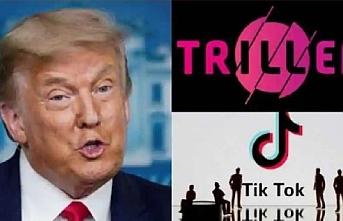 Trump TikTok'a rakip olan uygulama Triller'da hesap açtı