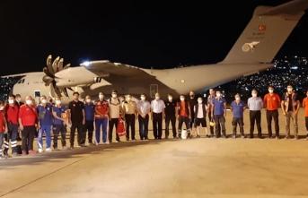 Türkiye'den Lübnan'a tıbbi malzeme yardımı
