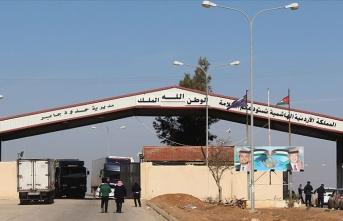 Ürdün Kovid-19 nedeniyle Cabir-Nasib Sınır Kapısı'nı 1 hafta daha kapalı tutacak
