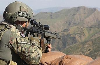 21 PKK/YPG'li terörist etkisiz hale getirildi