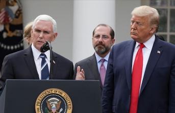 ABD Başkan Yardımcısı Pence: Trump ilk günden beri halkının sağlığını ilk sıraya koydu