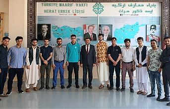 Afgan-Türk Maarif Okulları Uluslararası Erkek Lisesi ilk mezunlarını verdi