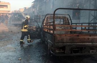 Afrin'de terör saldırısı: 9 ölü, 43 yaralı