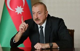Aliyev, Dağlık Karabağ sorununun çözümü için BM Güvenlik Konseyi'ni adres gösterdi